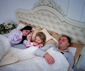 Toddler Sleep Parent Bed